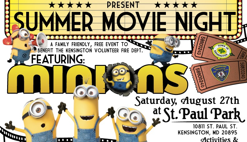 Summer Movie Night: Minions